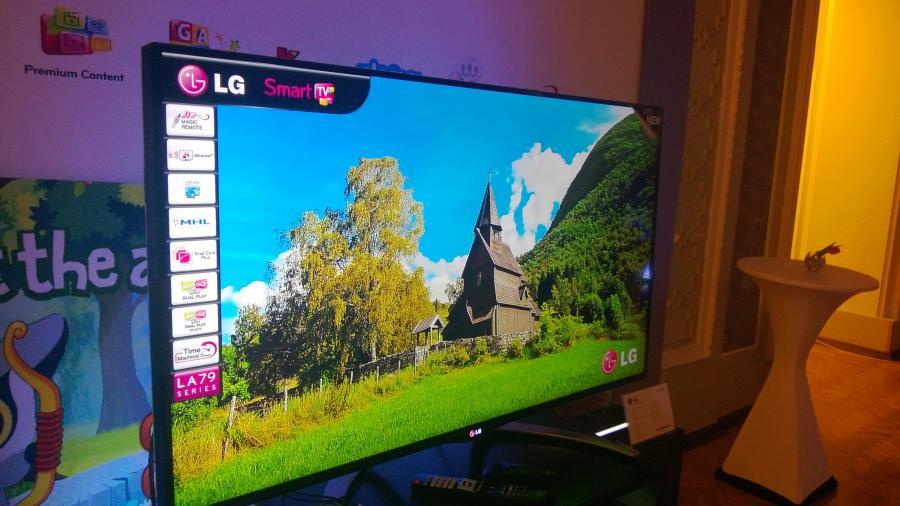 Nowy telewizor LG