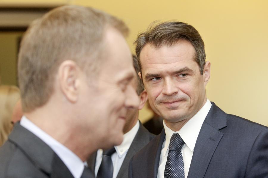 Sławomir Nowak i Donald Tusk