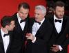 Tobey Maguire, Leonardo DiCaprio, reżyser Baz Luhrmann i Joel Edgerton
