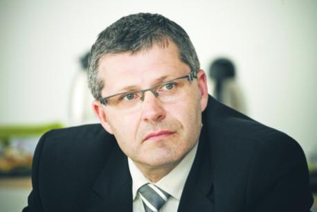 Janusz Zakręcki, prezes zarządu Polskich Zakładów Lotniczych w Mielcu
