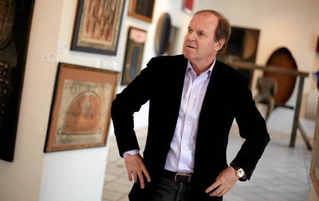 Wojciech Fibak to ceniony kolekcjoner dzieł sztuki