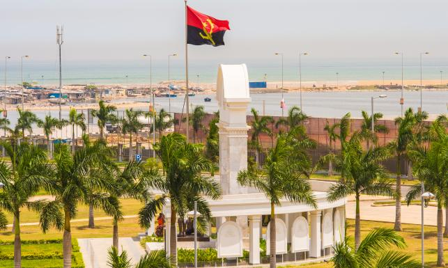Luanda w Angoli