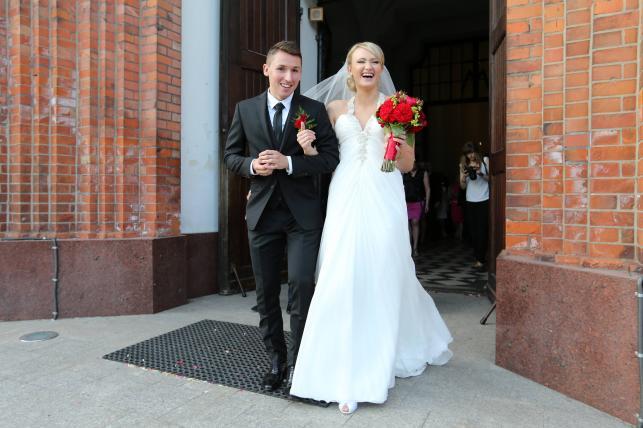 Ślub Radosława Majewskiego