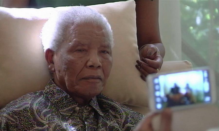 Nelson Mandela w szpitalu
