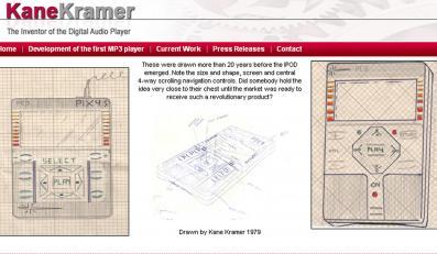 iPoda stworzył w 1979 roku sprzedawca mebli Kane Kramer