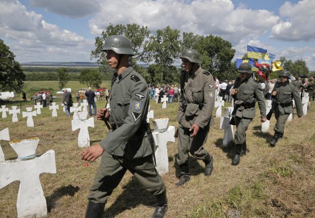 Ukraińskie grupy rekonstrukcyjne przypominają o SS-Galizien
