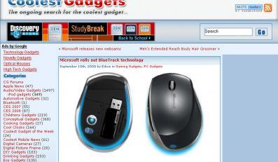 Nowa mysz Microsoftu będzie działać na każdym podłożu