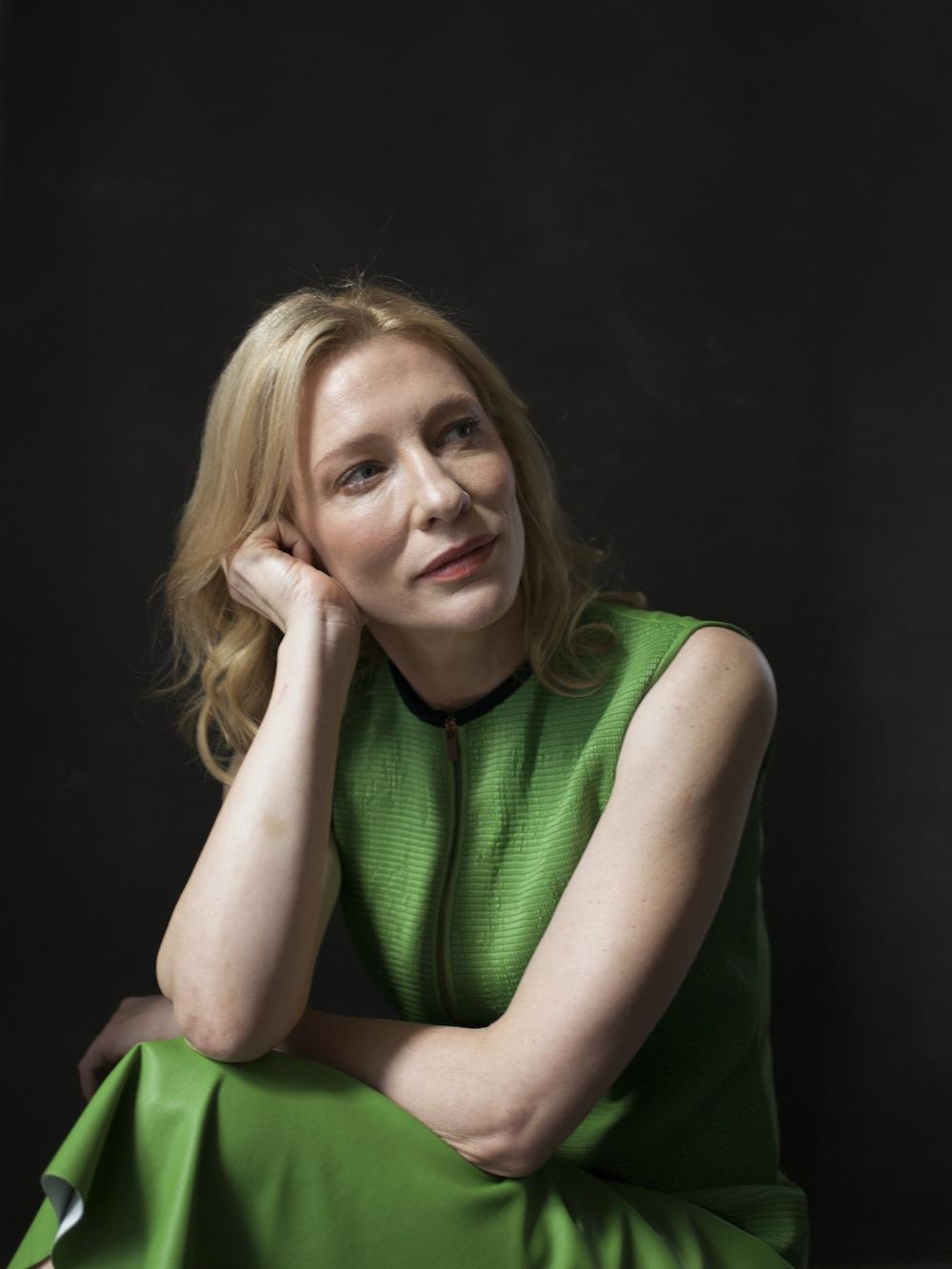 Cate Blanchett urodziny świętje na planie