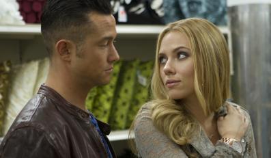"Joseph Gordon-Levitt i Scarlett Johansson w filmie ""Don Jon"""