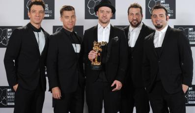 Justin Timberlake po latach z kolegami z 'N Sync