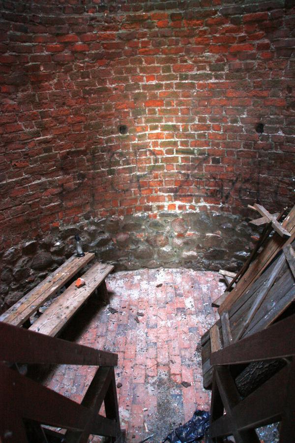 Czersk - ruiny gotyckiego zamku