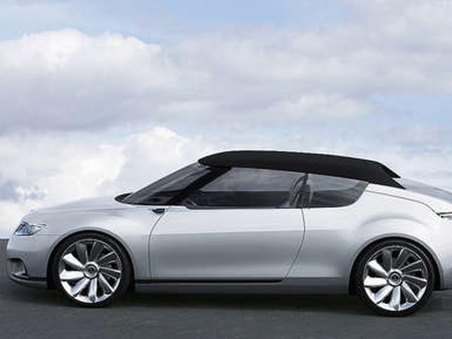 Saab 9X Air - perłowe cudeńko, które jest wizją auta kompaktowego, jakiego skandynawska marka po prostu nie ma