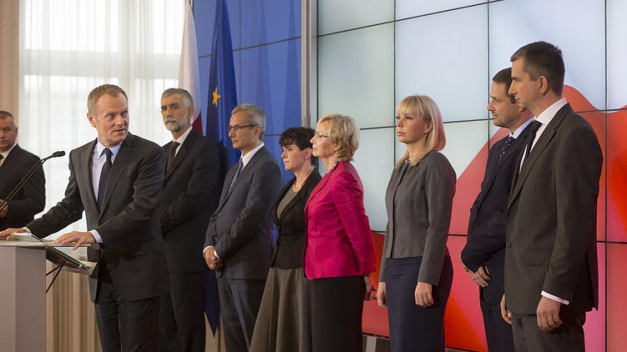 Nowe twarze w rządzie Donalda Tuska