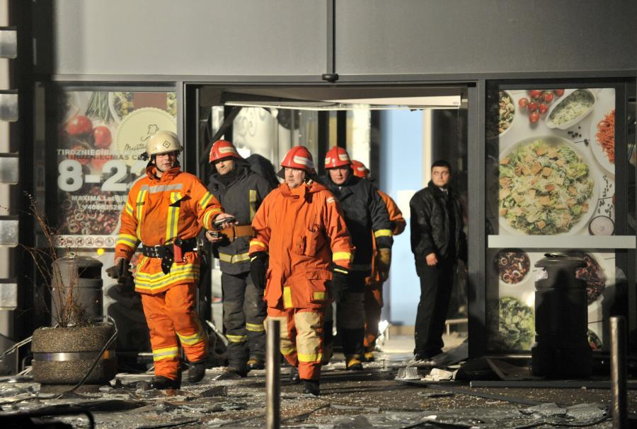 W Rydze zawalił się supermarket