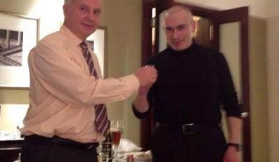 Michaił Chodorkowski w berlińskim hotelu