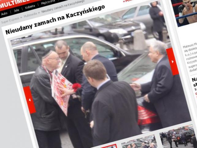 Nieudany zamach na Kaczyńskiego