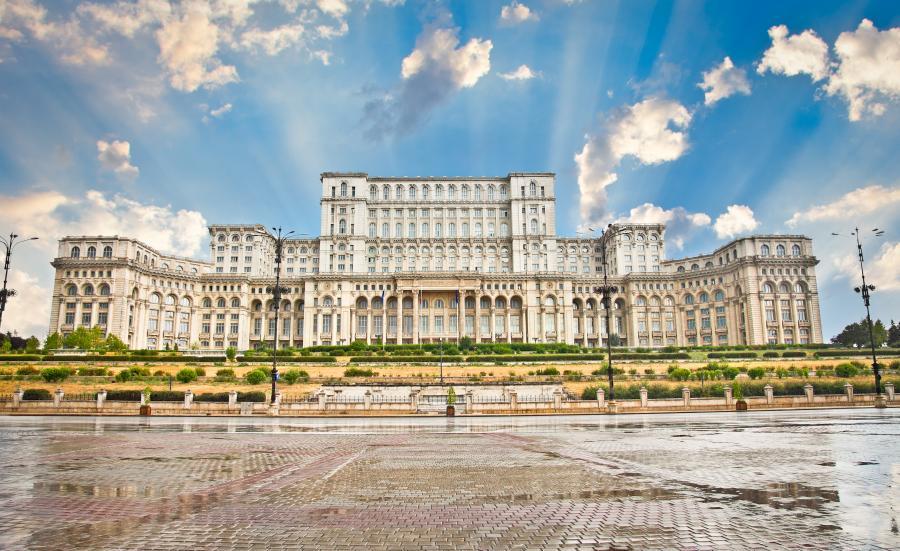 Siedziba rumuńskiego parlamentu