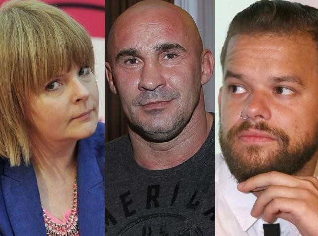 Karolina Korwin-Piotrowska, Michał Piróg, Przemysław Saleta