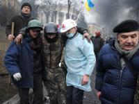 Rok temu Majdan spłynął krwią. Dzień Niebiańskiej Sotni na Ukrainie