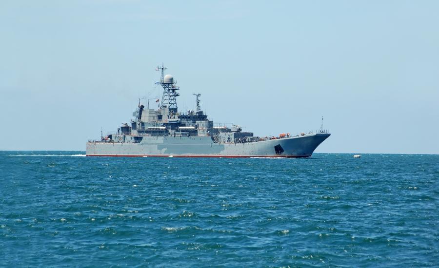 Rosja okręt wojenny
