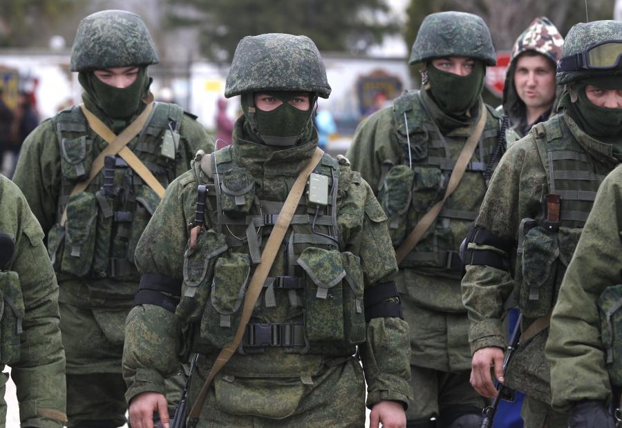Krym: rosyjscy żołnierze