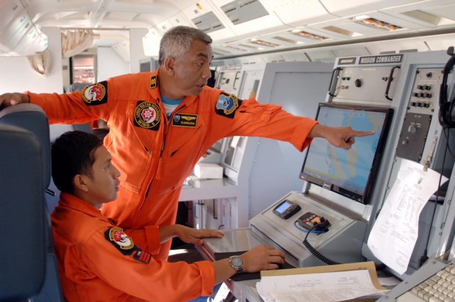 Poszukiwania zaginionego malezyjskiego boeinga