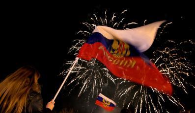 Mieszkańcy Krymu cieszą się z wyników referendum