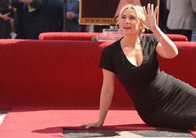 Kate Winslet uhonorowana gwiazdą na Hollywoodzkiej Alei Sław