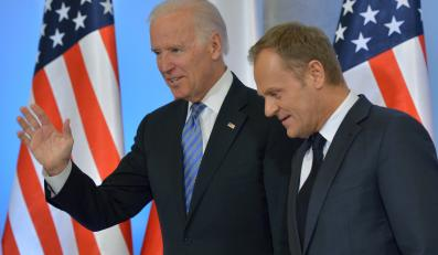 Joe Biden i Donald Tusk