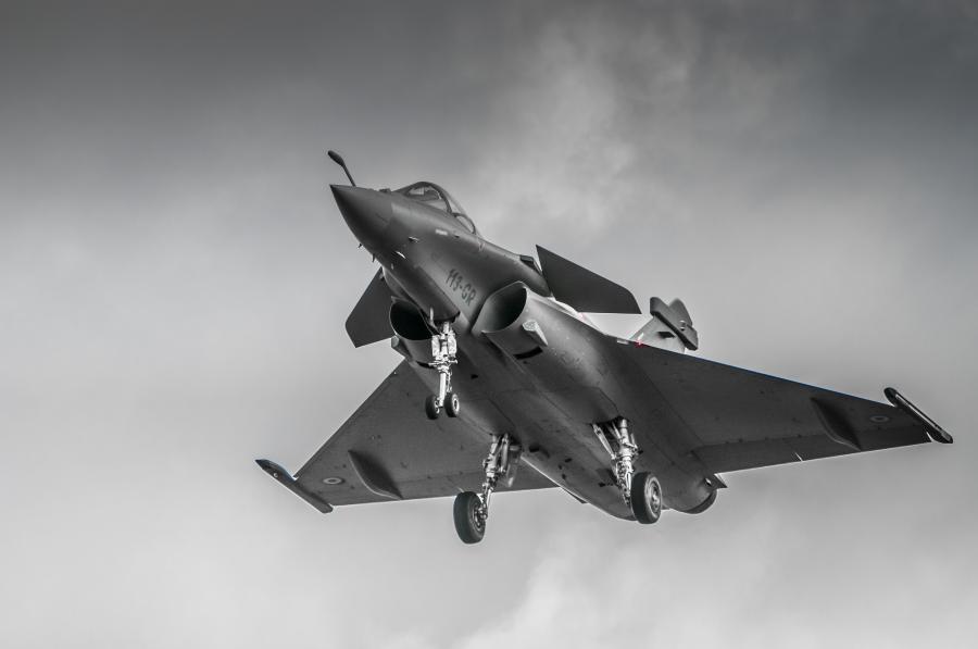 Myśliwiec Rafale
