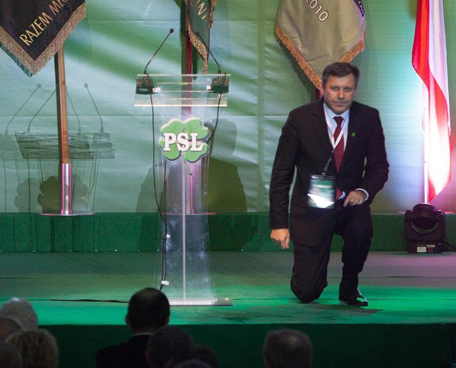 Janusz Piechociński na Kongresie PSL