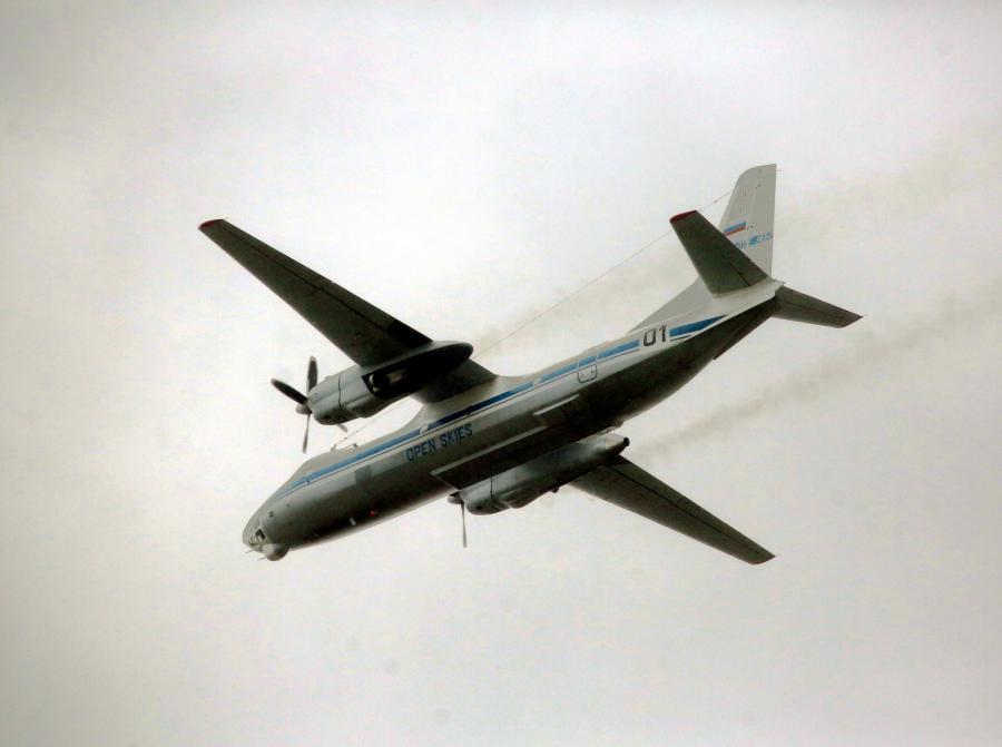Rosyjski samolot nad Polską