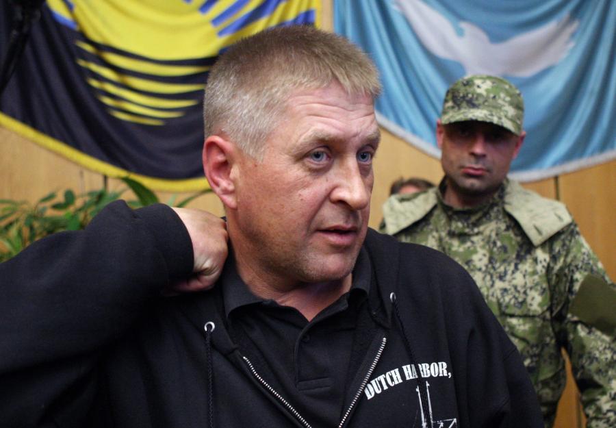 Samozwańczy mer Słowiańska Wiaczesław Ponomariow nie przewiduje uwolnienia dziś obserwatorów OBWE