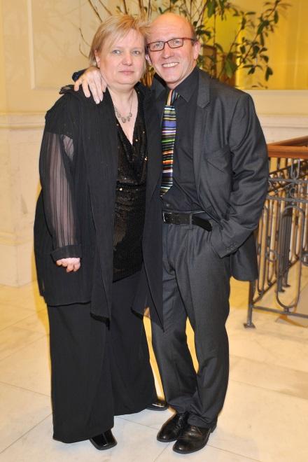 Beata i Artur Barcisiowie w 2010 r.