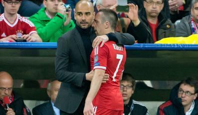 Pep Guardiola i Franck Ribery