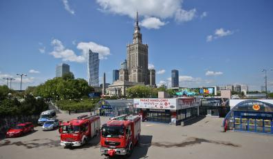 Akcja ratunkowa w warszawskim metrze