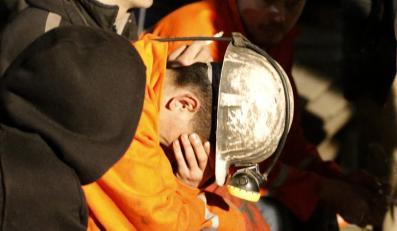 Akcja ratunkowa po katastrofie w kopalni w Soma w Turcji