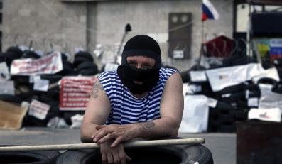 Separatysta w Doniecku