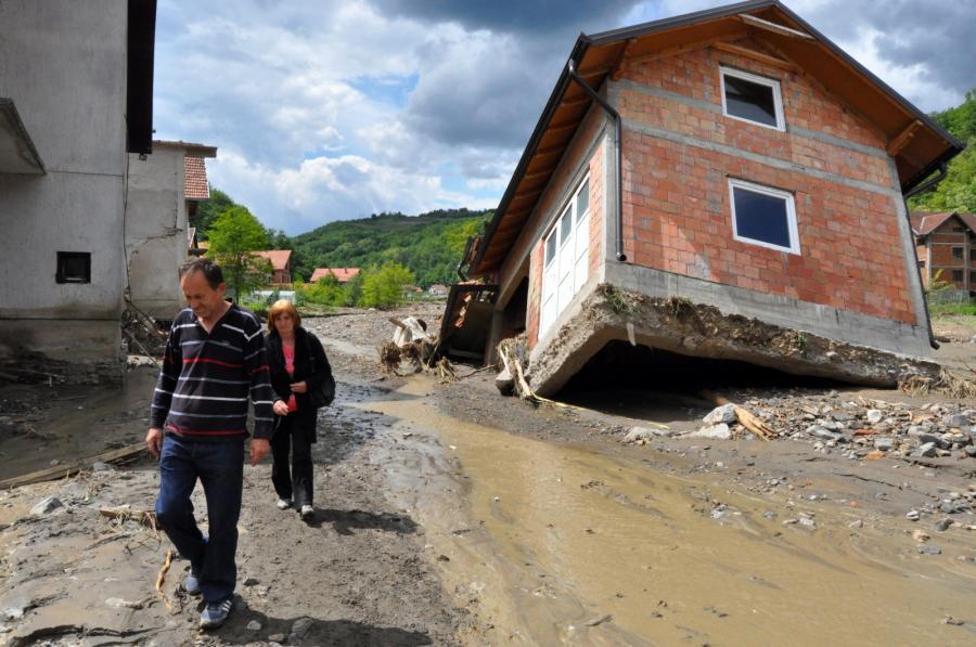 Tragiczna powódź w Krupanj w Serbii