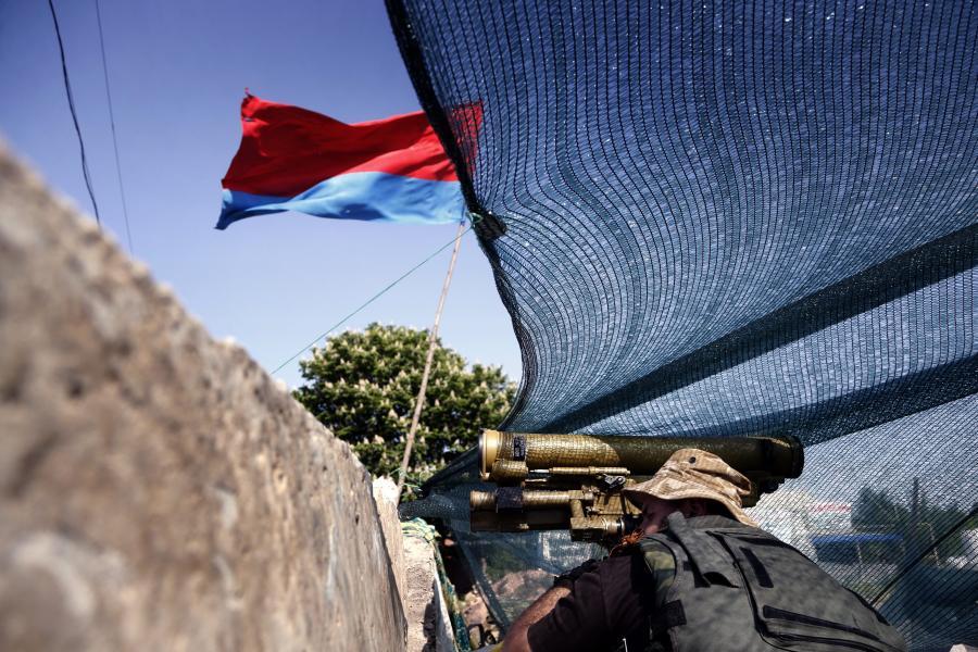 Separatyści na barykadzie
