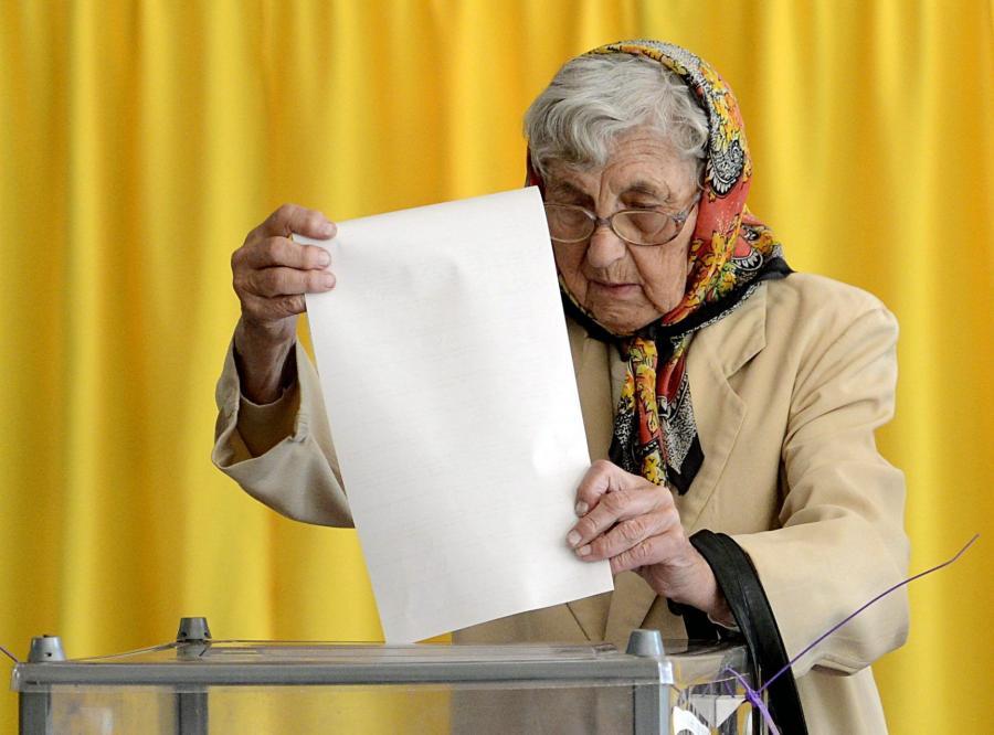 Głosowanie na Ukrainie