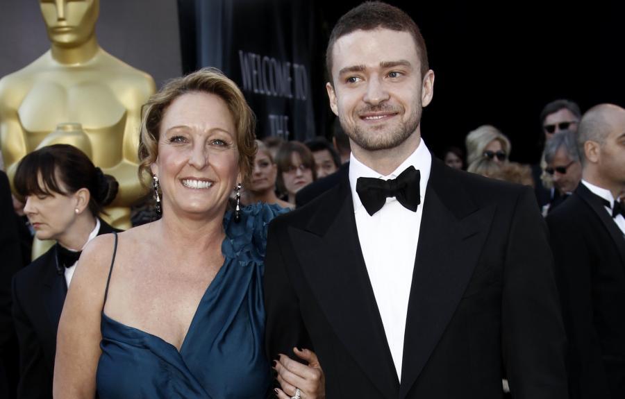Justin Timberlake z mamą Lynn Harless