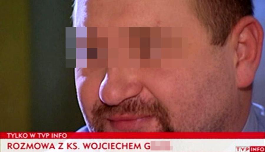 Podejrzany o pedofilię ksiądz Wojciech G.