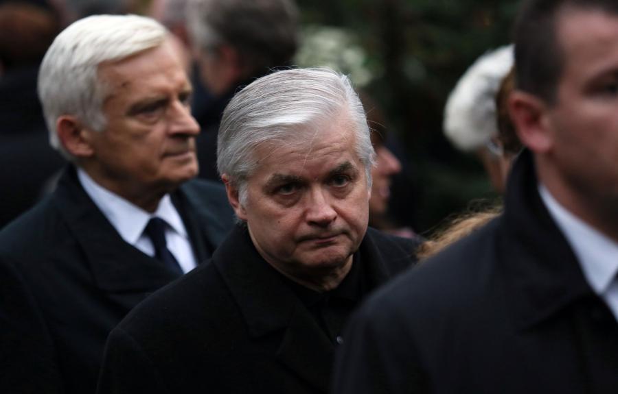 Jerzy Buzek i Włodzimierz Cimoszewicz