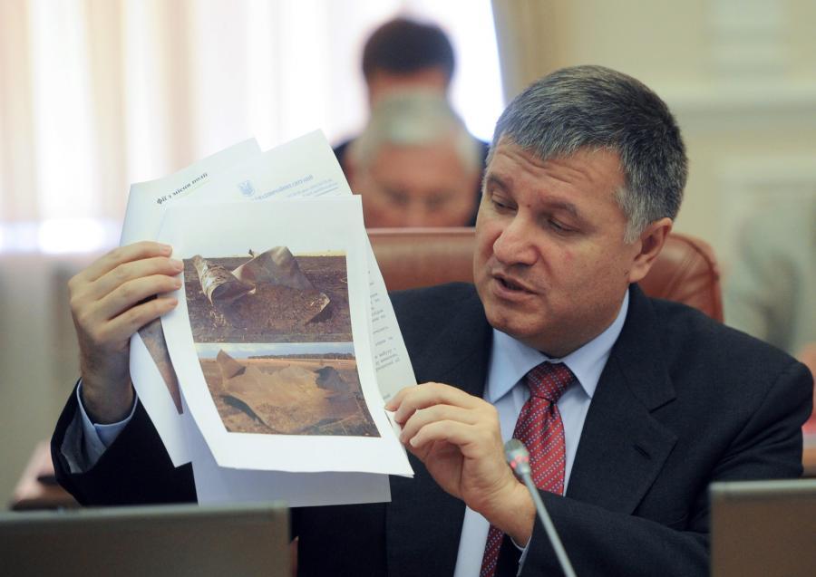Szef ukraińskiego MSW Arsen Awakow