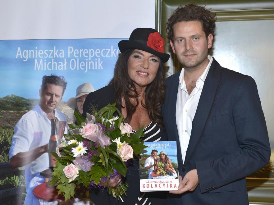 Agnieszka Fitkau-Perepeczko i Michał Olejnik- czerwiec 2014 r.