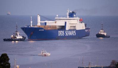 Statek z bronią chemiczną z Syrii