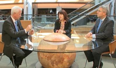 Dominika Ćosić rozmawia z Bogusławem Liberadzkim i Ryszardem Czarneckim