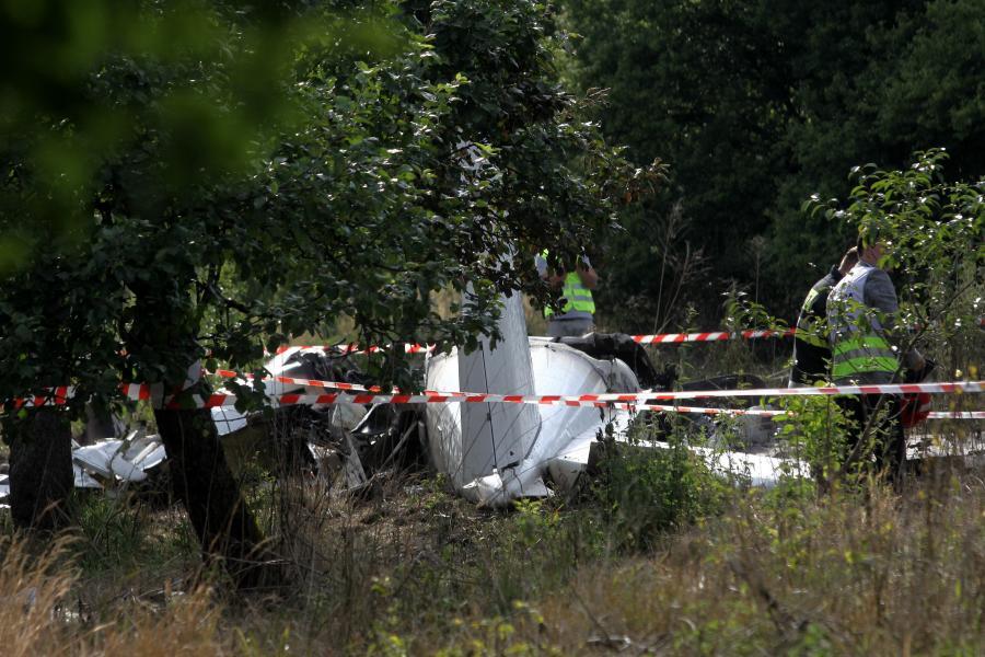 Katastrofa lotnicza pod Częstochową
