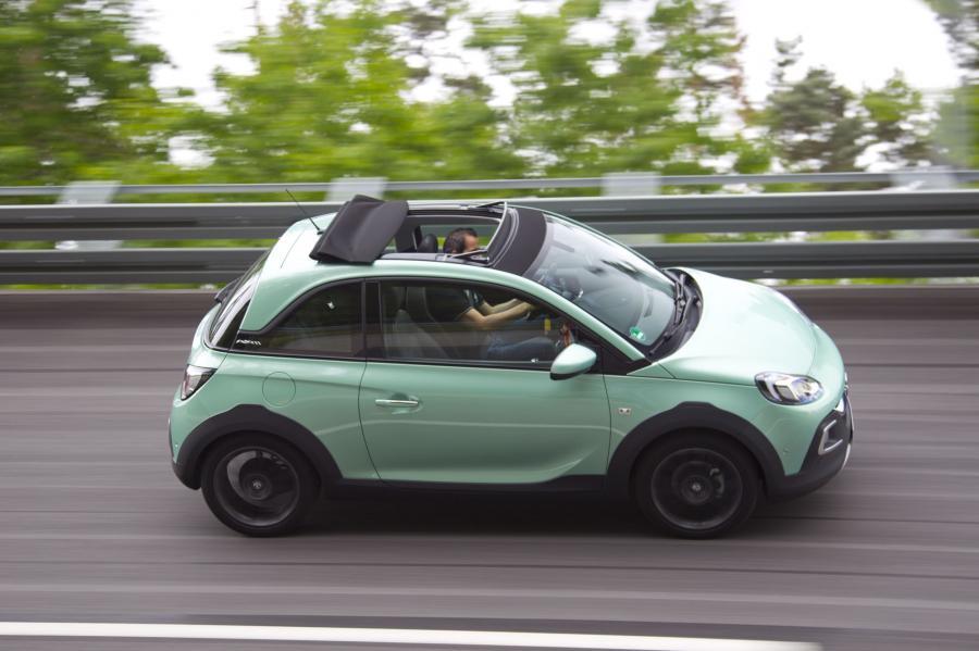 Opel ADAM ROCKS w Centrum Testowym w Dudenhofen